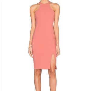 Elizabeth and James Hout Dress in Peach Nouagat